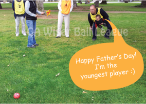 Greeting from our youngest player!